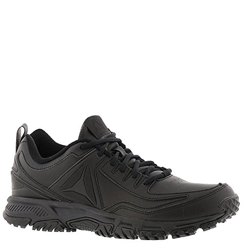 Reebok Heren Ridgerider Leer 4e Sneaker Zwart / Zwart / Zwart - Breed E