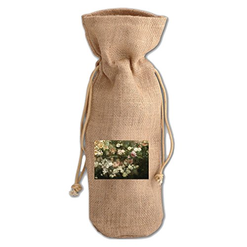 Garden In May (Maria Oakey Dewing) Jute Burlap Burlap for sale  Delivered anywhere in USA