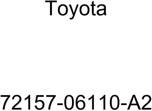 TOYOTA 72157-06110-A2 Seat Track Bracket Cover
