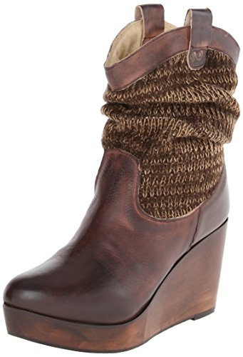 Bed|Stu Women's Bruges Slouch Boot, Teak Rustic, 8.5 M US