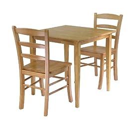 Winsome Groveland 3-Piece Wood Dining Set