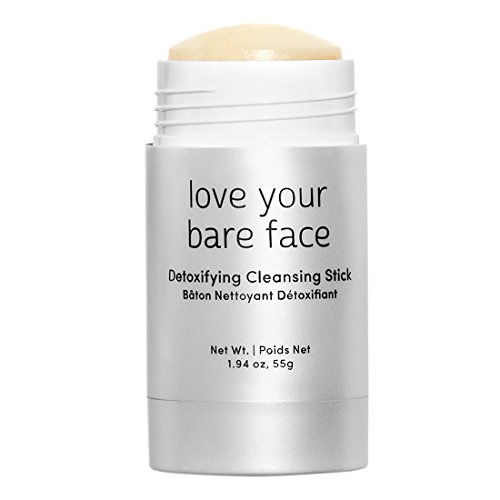 Julep Love Your Bare Face Detoxifying Cleansing Balm Stick, Exfoliating Face Wash