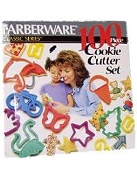 Acquisition Farberware 100 Piece Cookie Cutter Set saleoff