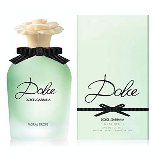 DOLCE GABBANA Floral Drops Eau de Toilette Spray for Women, 5 Fluid Ounce