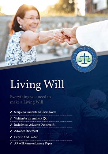 Living Will Forms And Advance Decision Template With Guidance Notes Sample And Storage Folder Todd David Amazon Co Uk Office Products