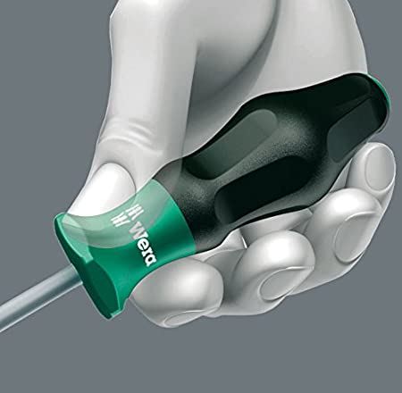 Wera 5031421001 Kraftform 1334 Comfort Screwdriver Slotted Flared Tip 6.0 x 125mm Multi-Colour 1.0 x 6.0 x 125 mm