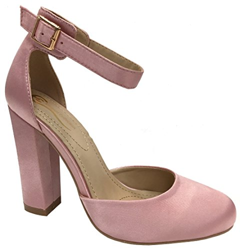 Ankle Mary Pink Footwear Strap Off Pump Elegant Platform Jane Women's EXn6qH