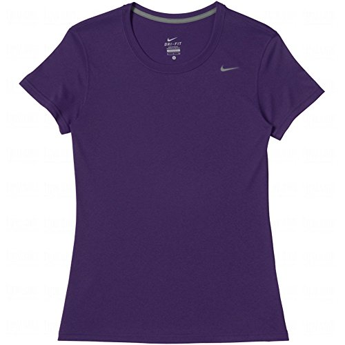 Nike Women's Dri-Fit Legend Short Sleeve T-Shirt (Medium, - Legend Fit Dri