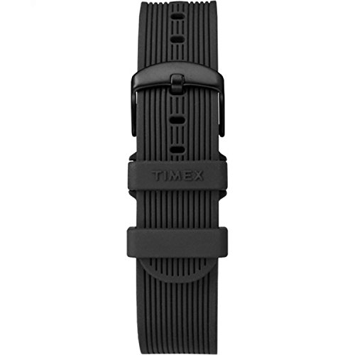 Timex TW7C06600 Metropolitan+ 20mm Black Silicone Strap (Timex Strap 20mm)