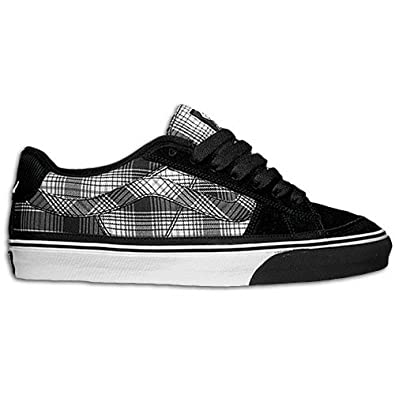 677aba1f75 Vans J-Lay Flannel Black White Shoe FJN2M3 (UK10)  Amazon.co.uk ...