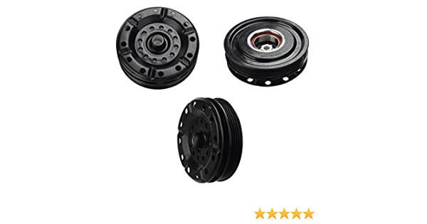 Amazon.com: TOYOTA YARIS (06-12) A/C AC COMPRESSOR CLUTCH KIT (PULLEY, BEARING, PLATE): Automotive
