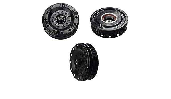 Toyota Yaris (06 - 12) a/c Kit de embrague del compresor AC (Polea, rodamientos, Plato): Amazon.es: Coche y moto
