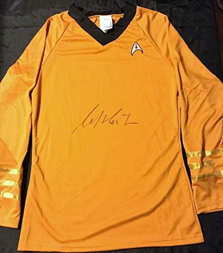William Shatner Autographed Signed Captain Kirk Costume Shirt PSA/DNA Star Trek Size Large - Certified Authentic ()