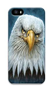 Bald Eagle Totem PC Case Cover for iPhone 5 and iPhone 5s 3D