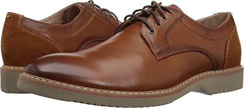 Florsheim Men's Union Plain Toe Oxford Dress Casual Shoe, Saddle tan 8.5 D US