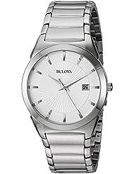 Bulova Mens Bracelet Calendar Dress Watch