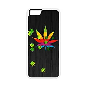 Iphone 6 4.7 Inch Phone Case for Marijuana Leaf grass pattern design