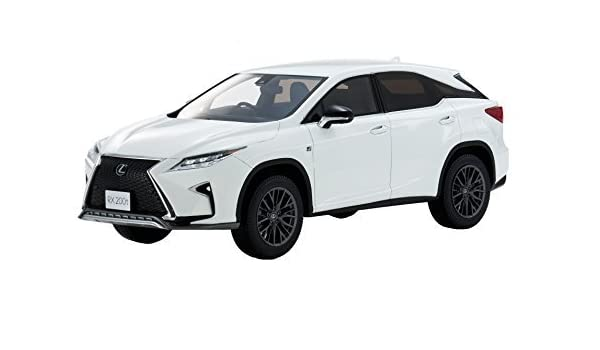 White Lexus Suv >> Amazon Com Kyosho Samurai 1 18 Lexus Rx 200t F Sport White Finished