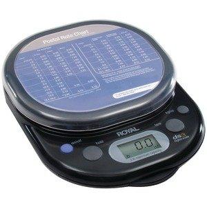 ROYAL Product-ROYAL 17012Y Digital Postal Scale (3 lb) (Royal Postal Digital Scale)