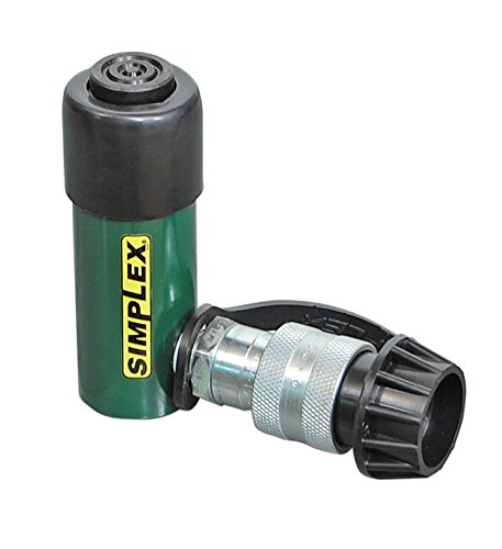 Simplex R51 Steel Spring Return Cylinder, 10000 PSI, 1.13'' Bore, 1.13'' Stroke by Simplex