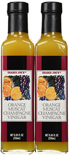 Trader Joe's Gourmet Orange Muscat Champagne Vinegar (Pack Of 2)