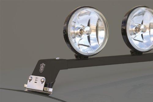 Carr's 210501 Low Profile Light Bar Black Powder Coat