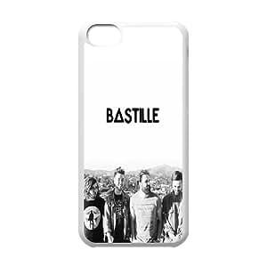 Bastille iPhone 5c Cell Phone Case-White JD7693647