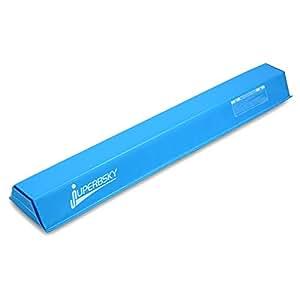 JuperbSky Gymnastics 4ft Balance Beam for kids, Light Blue