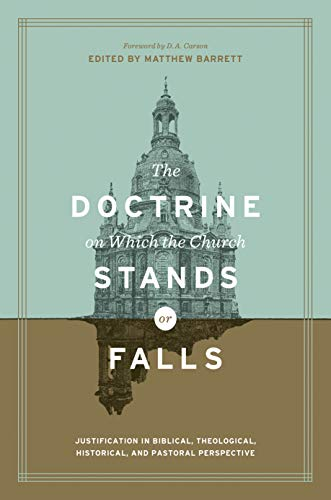 Audiobook cover from The Doctrine on Which the Church Stands or Falls: Justification in Biblical, Theological, Historical, and Pastoral Perspective by Matthew Farrell