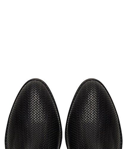 Schwarz Leder PoiLei in Damenschuhe Made Malou Italy Sommer Stiefeletten wwXaBI