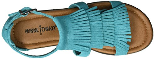 Minnetonka Damen Maui Sandalen Türkis (Turquoise)