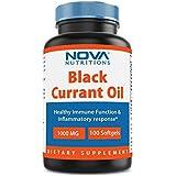 Nova Nutritions Black Currant Oil 1000 mg 100 Softgels