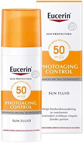 Eucerin Photoaging Control Sun Fluid with hyaluronic acid SPF 50