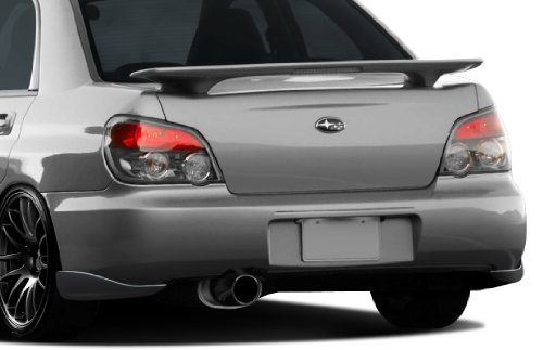 Duraflex Replacement for 2004-2007 Subaru Impreza WRX STI 4DR C-Speed 2 Rear Add On Bumper Extensions - 2 Piece ()