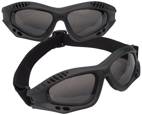 Rothco Black VenTec Tactical - Buy Goggles Aviator
