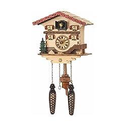 Trenkle Quartz Cuckoo Clock Swiss house with music TU 473 QM
