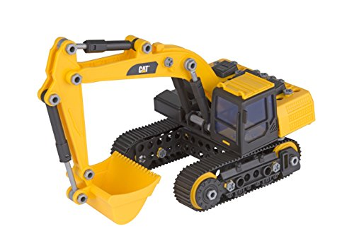 Toy State Caterpillar CAT Machine Maker Apprentice Excavator Construction Building Vehicle