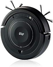 Aspirador de Pó Robô WAP ROBOT W100 Bivolt Automático 3 em 1 Varre Aspira e Passa Pano MOP para Limpeza