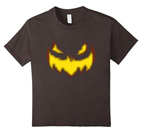 unisex-child Jack-O-Lantern Glowing Evil Pumpkin Halloween Costume T-Shir 4 (4 Person Matching Costumes)