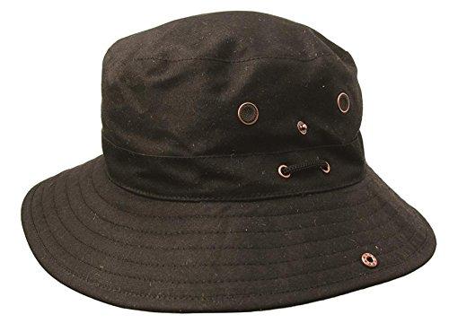 Kakadu Australia Light weight Buckle Hat from Microwax Canvas, waterproofed -