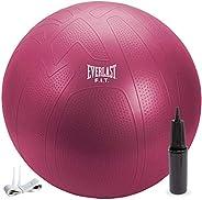 Everlast Pro Grip Fitness Ball 65cm - Red