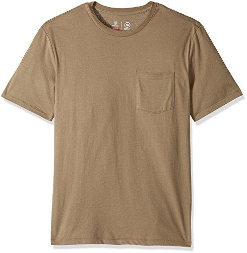 Brixton-Mens-Basic-Short-Sleeve-Tailored-Fit-Pocket-Tee