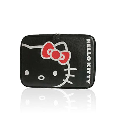 Hello Kitty - Funda para ordenador portátil de 11 pulgadas, color negro: Amazon.es: Electrónica
