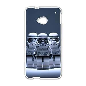 HTC One M7 Cell Phone Case White Star Wars zhr