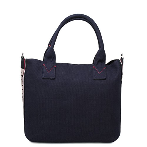 para One Bolso mujer size de nailon al hombro Pinko Azul 1x7nwAB1q