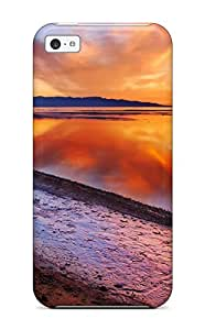New Sunset Earth Nature Sunset Tpu Case Cover, Anti-scratch ABOagMl12966XlZzt Phone Case For Iphone 5c
