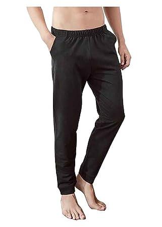 24station Pantalones de chándal de algodón para Hombres Pijamas ...