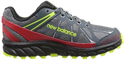 888546333864 - New Balance KJ610 Youth Lace Up Trail Running Shoe (Little Kid/Big Kid), Grey/Red, 2.5 M US Little Kid carousel main 6