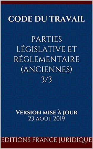 Amazon Com Code Du Travail Parties Legislative Et