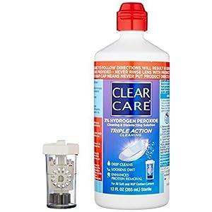 Ciba Clear Care Solution Size 12 Oz Ciba Clear Care Contact Lenses Solution